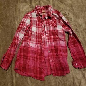 Flannel button shirt